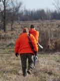 Chasseurs de cerfs communs photo libre de droits