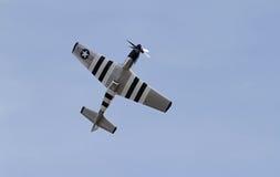 Chasseurs de mustang de la deuxième guerre mondiale P-51 Images stock