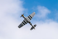 Chasseurs du mustang P-51 Photos libres de droits