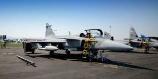 Chasseurs tchèques de Gripen Photo stock