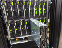 Chassi do servidor imagem de stock