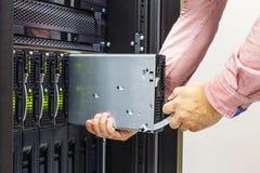 Chassi do servidor Foto de Stock Royalty Free