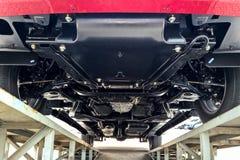 Chassi e suspensão do carro do caminhão imagem de stock