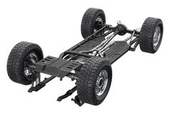 Chassis frame auto undercarriage Royalty Free Stock Image