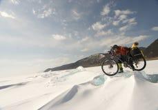 Chassoir de glace Images libres de droits
