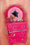 Chast das gavetas para a jóia fotografia de stock