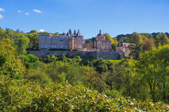 Chastellux-sur-Cure Chateau, Burgundy Stock Photo