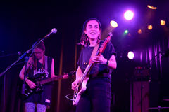 Chastity Belt band in concert at Primavera Club 2015 Festival Stock Photo