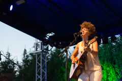 Chastity Brown przy Carroponte MI 05-07-2017 Obraz Stock