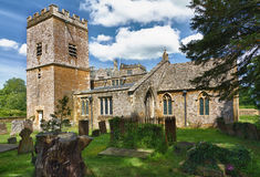 chastleton kościelny cotswolds Mary st uk Fotografia Stock