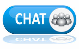 Chat banner Stock Photography