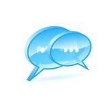 Chat box Stock Photo
