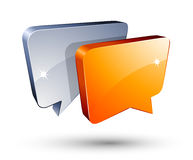 Chat Box Royalty Free Stock Photography