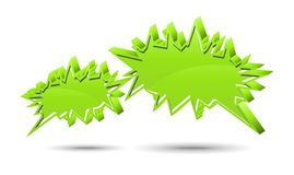 Chat box. Green Stock Photography