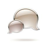 Chat box icon Stock Image