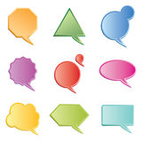 Chat boxes Royalty Free Stock Photography