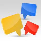 Chat Boxes Royalty Free Stock Photo