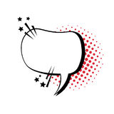 Chat Bubble Icon Pop Art Style Social Media Communication Royalty Free Stock Photography