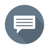 Chat bubble Icon Stock Photography
