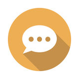 Chat bubble Icon Royalty Free Stock Photo