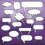 Chat Bubbles Stock Photography