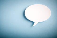 Chat bubbles. Paper cut design Stock Photo