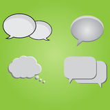 Chat Bubbles Set Royalty Free Stock Photo