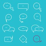 Chat bubbles Royalty Free Stock Photo