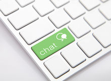 Chat and Chat Sign Royalty Free Stock Images