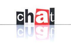 Chat stock photos