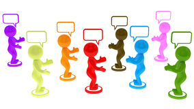 Chat concept Stock Photo