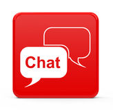 The chat Royalty Free Stock Photography