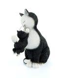 Chat et chaton Photographie stock libre de droits