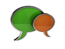 Chat icon Stock Image