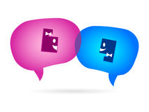Chat icon Stock Photos