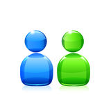 Chat icon. Vector Royalty Free Stock Photos