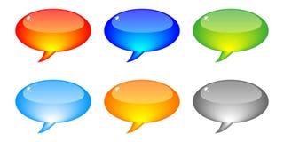 Chat icons stock illustration