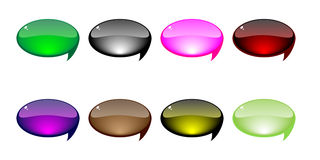 Chat icons vector illustration