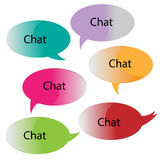 Chat/message bubbles Royalty Free Stock Photo