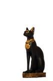 Chat noir de culture égyptienne Photo libre de droits
