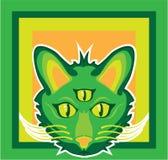 chat observé par 3 Photos libres de droits