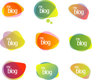 Free Chat Or Blog Bubbles. Stock Image - 9979571