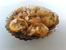 Chat Puri. Chatpuri snacks food Royalty Free Stock Image