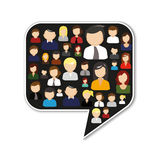 Chat Room Stock Photo