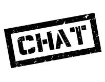 Chat rubber stamp Stock Photography