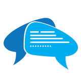 Chat service Stock Photo