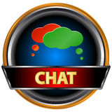 Chat symbol Royalty Free Stock Photos