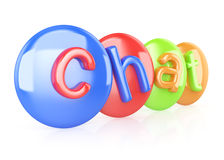 Chat symbol Stock Images