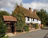 chata anglików wioski Obraz Royalty Free