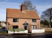 chata anglików wioski Fotografia Royalty Free